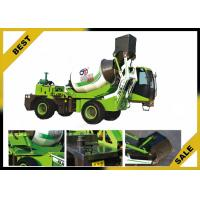 China High Active Production Truck Mounted Concrete Mixer Front Loading Shovel Anti-Tilt on sale