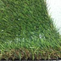 Buy cheap Green Synthetic Grass Around Pool Covering 25mm Pile Height 9000 Dtex product