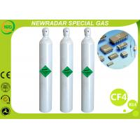 Buy cheap CF4 Carbon Tetrafluoride Electronic Gases / Refrigerant R14 Gas product