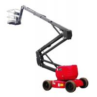 Buy cheap 200Kg Self Propelled Electric Articulating Boom Lift For Construction product