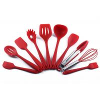 Buy cheap Home Silicone Kitchen Utensils Set Heat Resistant Protecting Pan 10 Pcs product