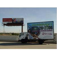 Buy cheap SMD5050 Led Mobile Billboard P10 / full color truck outdoor advertising led display product