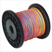 China SZ Fishing 8 Strands PE braided 500m Multicolor Multifilament Fishing Line wholesale on sale