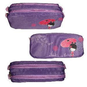 Buy cheap 2 Zipper Pencil Bag/Case, Pen Bag,Pencil Pouch product