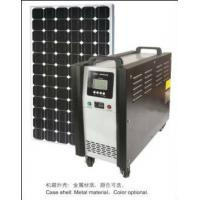 China Portable 300 Watt off-grid solar power systems for house / home USB 5V DC 12V AC 220V on sale