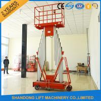 Buy cheap Mini Light Weight Electric Truck Mounted Aerial Work Platforms 1.4 * 0.6 mm Table Size product