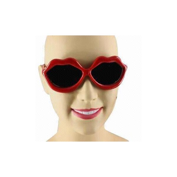 cool eyeglasses for women  kissing lips cool