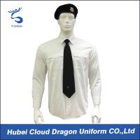 Buy cheap Wrinkle Resistant Security Polo Shirts / Security Officer Shirts For Company Guard product
