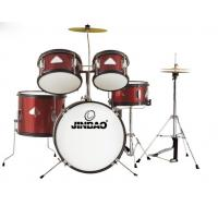 Buy cheap Jinbao musical instrument Red color 5-pc Junior Drum set product