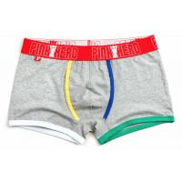 Buy cheap Fashion High Rise Boxer Briefs , High Stretch Mens Cotton Boxer Shorts product