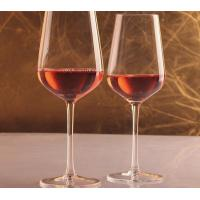 Buy cheap Lead Free Crystal Wholesale  Wine Glasses Red Made In China Strong Packing product