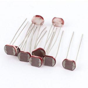 China ANYO Passive Electronic Components Light Sensitive Resistor Φ10mm Photoresistor on sale