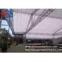 Buy cheap Lighting Bolt Aluminum Stage Truss , Heavy Tudy Aluminum Roof Truss Long Life Span product