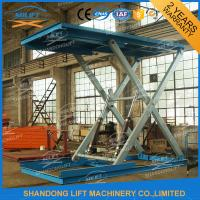 Buy cheap 3T 3m Heavy Duty Hydraulic Scissor Car Lift , Automotive Scissor Lift from wholesalers