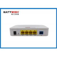 China White 1 EPON Port FTTX ONT , FTTX Optical Network Unit Support WiFi Function on sale