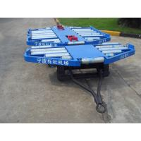 Multifunction CE Ld3 Container Dolly 90 Degree Rotated Easy Operation