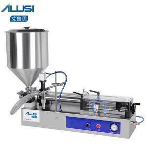 Buy cheap Semi-auto Lotion Cosmetic Filler HoneyCream Piston Paste Liquid Filling Machine product