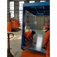 Quality 2 Car ABB Motor Construction Material Hoist, Cage Size 3.2×1.5×2.2m for sale