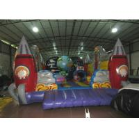 Buy cheap Custom Alien Spaceship Blow Up Bounce House , Little Tikes Inflatable Bounce House product