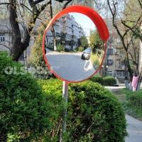 Buy cheap Indoor Outdoor Safety Acrylic Convex Mirrors for Supermarket Schools Driveway product