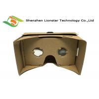 DIY Virtual Reality 3D Glasses Cardboard VR Goggles 25 Mm / 34 Mm Lens