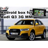 Buy cheap Android multimedia video interface for Audi Q3 , gps navigation devices product