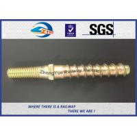 Buy cheap Hot Forging Railway Sleeper Screws Double End Special Track Bolt Customized product