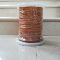 Buy cheap Color yellow 0.75mm self bonding triple insulated winding wire from wholesalers