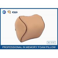 Buy cheap Orthopedic Design Memory Foam Travel Neck Rest Pillow with Adjustable Strap product