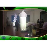 Buy cheap 3m Tall  Inflatable Lighting Decoration Inflatable Cone With LED Light product