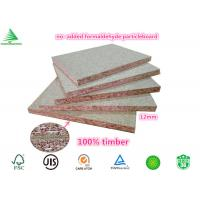 Buy cheap 12mm FSC certified furniture grade wholesale plain NAF particleboard from wholesalers