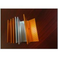 Buy cheap Bronze Color Industrial Aluminum Profile 6m Normal Length Corrosion Resistant product