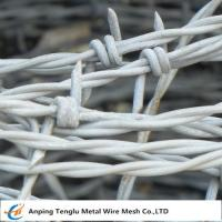 Buy cheap Barbed Wire| Made by Stainless Steel Wire Single and Double Ttwist Barb Wire product