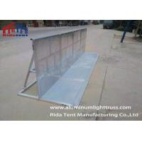 Buy cheap Outdoor Crowd Control Barriers , Durable Metal Crowd Barriers Easy Installation product