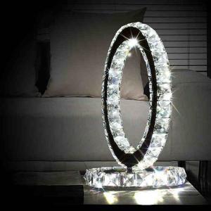 Quality Ferris wheel Crystal LED Table Lamp Table Light Desk Lamps Bedroom Lighting for sale