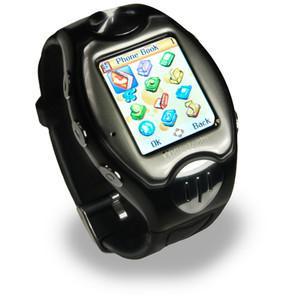 Buy cheap Custom Waterproof Tri-band GSM Multimedia Mobile Phone Watch product