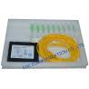 Low Insertion Loss Fiber PLC Optical Splitter , FTTX FTTH Splitter
