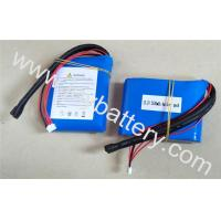 Quality 4S1P 13.2 2500mAh A123 26650 cell- high discharge current a123 lifepo4 battery pack 2.5Ah 13.2V for sale