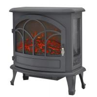 Buy cheap 3 Sided Freestanding Electric Fireplace  SF-25 real burning log LED flame living room heater product