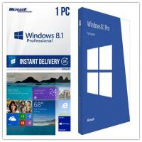 Buy cheap Operating System Windows 8.1 Professional Key Code Activation Full Version product