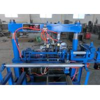 Buy cheap Firm Welding Welded Wire Mesh Machine , Fully Automatic Wave Brick Force Making Machine product