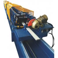 Galvanized Steel Shutter Roll Forming Machine With PU Foam Insulated 0.3~0.5mm