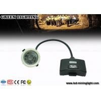 Buy cheap GS5- B 8000 Lux / 5.6ah Led Mining Cap Lights , IP68 Miners Head Torch Drop Resistance product