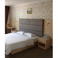 Quality Environment Luxury Hotel Furniture Sets King Size Headboard / Bedside Tables for sale