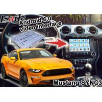 Buy cheap Ford Mustang SYNC 3 Android GPS navigation box WIFI BT Google apps video interface product