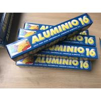 Buy cheap Rolled Foil Wrapping Paper For Food , Household Aluminium Foil For Food Cooking product