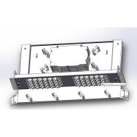 Buy cheap 48 Cores Ftth Fiber Optic Terminal Box With SC Adapters , Fiber Optic Junction Box product