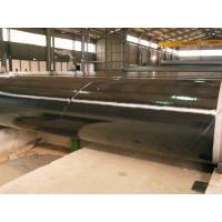 Buy cheap 3PE Three Layer Coated Steel Pipe , DIN30670 Coated Gas Pipe Underground product