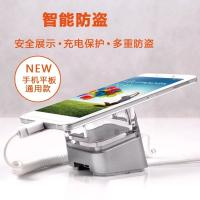 China COMER  New security alarm anti-theft holders smartphone floor display stand with sensor alarm charging on sale