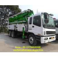 Buy cheap Euro 3 Used Concrete Pump Truck , Mobile Pump Truck Easy Operating product